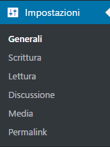 Guida-WordPress-menu-impostazioni