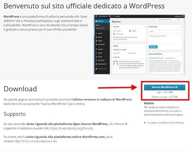 Guida-WordPress---scaricare-il-cms