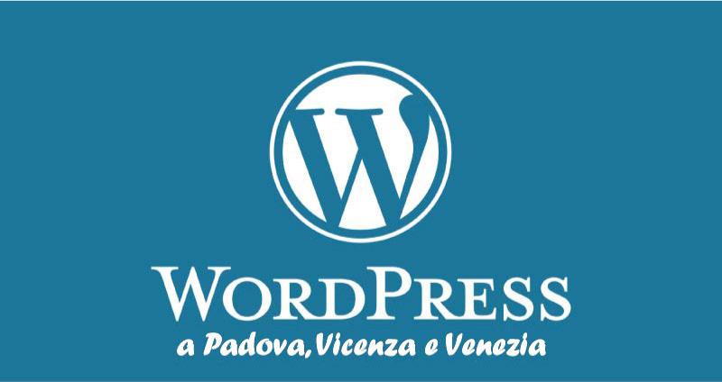 Corso WordPress versione 5 edizione 2020