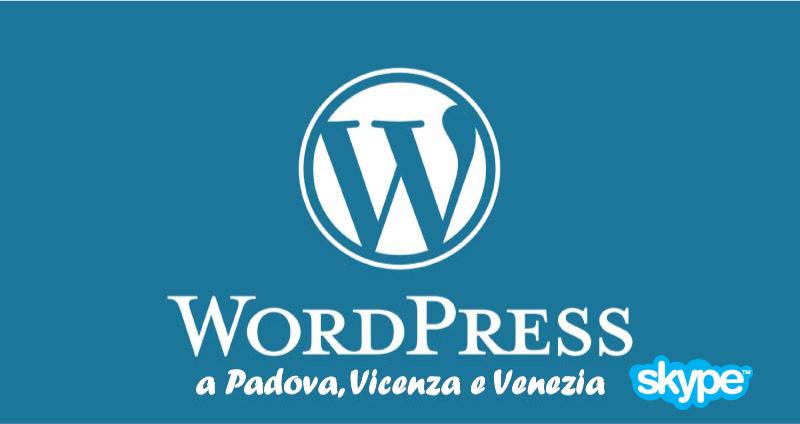 Corso online WordPress 5 edizione Skype 2019