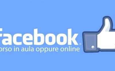 Corso Facebook 2020 a Padova, Vicenza, Venezia ed online