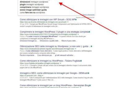 La funzione Instant Search di Google