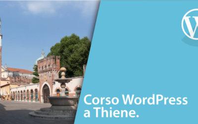 Corso WordPress Thiene [MasterClass livello base]